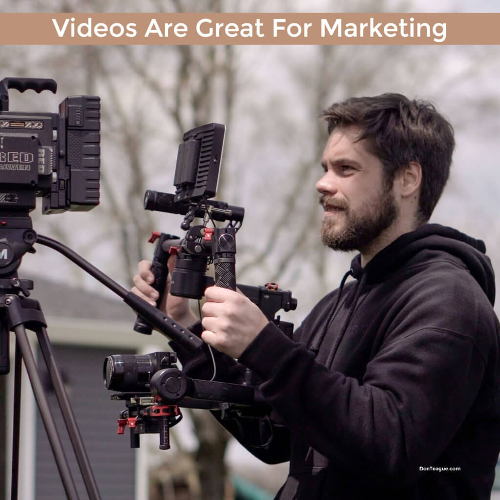 Videos make for great marketing tools. Great video editing software helps too!